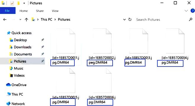 supprimer dmr64 ransomware