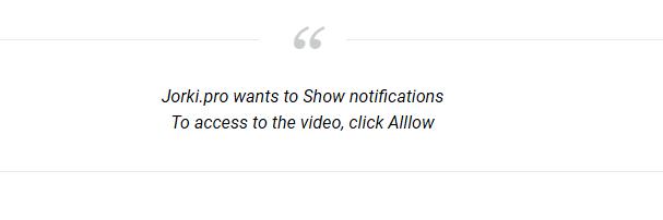 comment supprimer  Jorki.pro ads