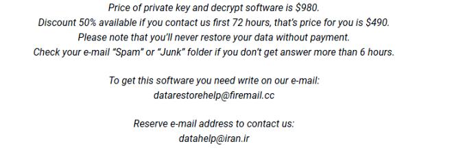 supprimer MERL ransomware