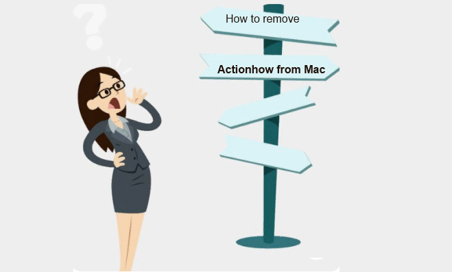 how to remove Actionhow from Mac
