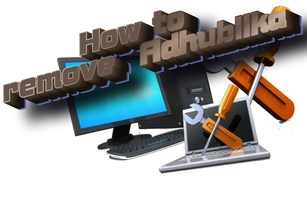 how to remove adhubllka