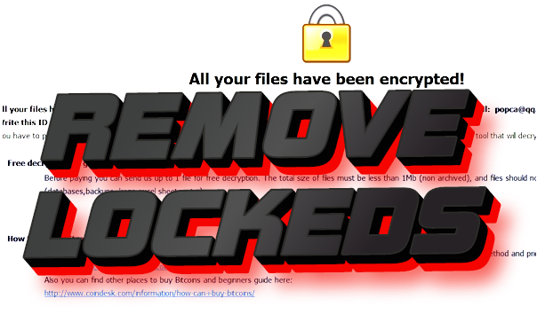 how to remove locked ransomware