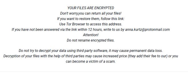 supprimer anna.kurtz@protonmai.com.roger ransomware