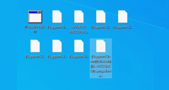 remove clown ransomware