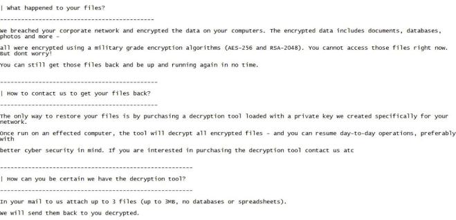 snake ekans ransomware