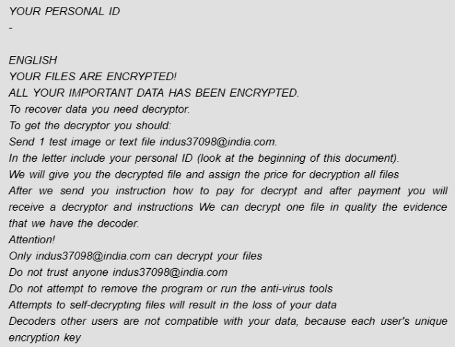 remover zyx ransomware