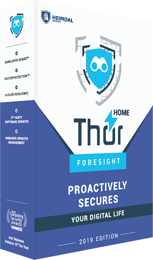 Thor Foresight Home banner