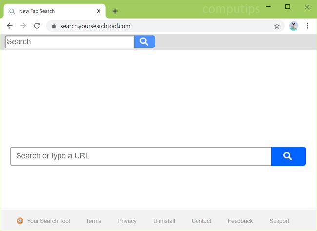 delete YourSearchTool virus