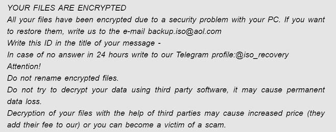 iso phobos ransomware