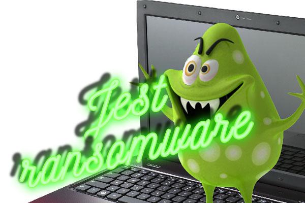 É um vírus ransomware