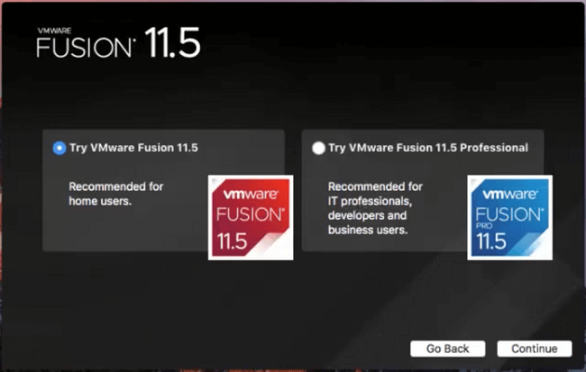 how to install windows 10 on a macbook pro with vmware fusion