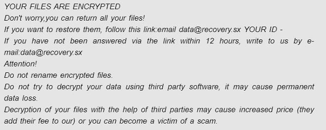 data dharma ransomware