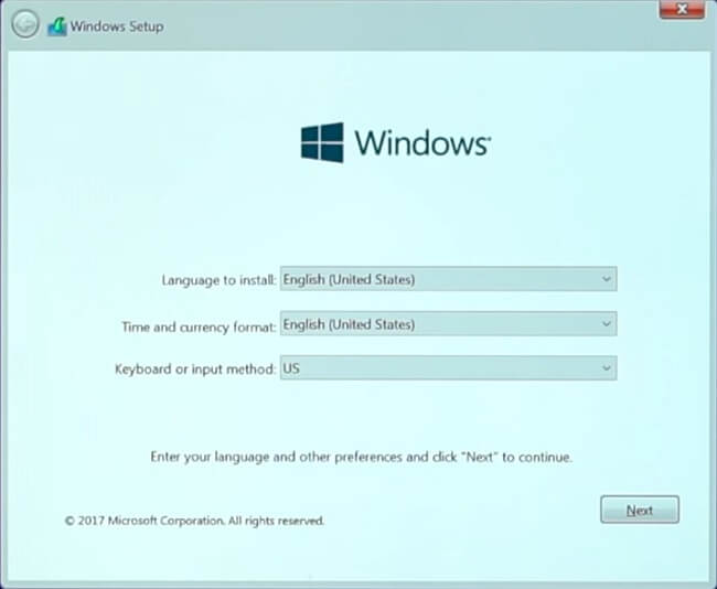 Windows installation on Virtual Box screenshot 4