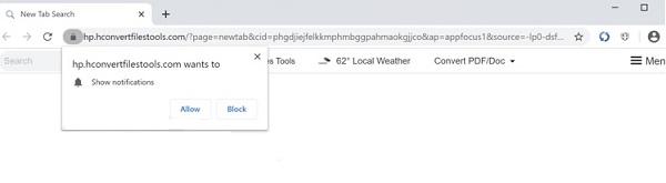 convertir archivos herramientas secuestrador del navegador