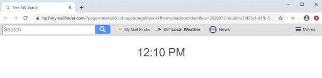 sequestrador de navegador do meu localizador de e-mail