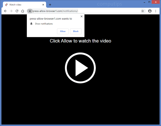 Delete v1.press-allow-browser1.com, v2.press-allow-browser1.com (press allow browser 1 com virus) notifications
