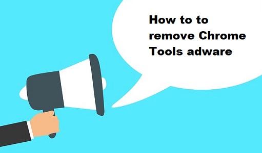 logiciel publicitaire Chrome Tools