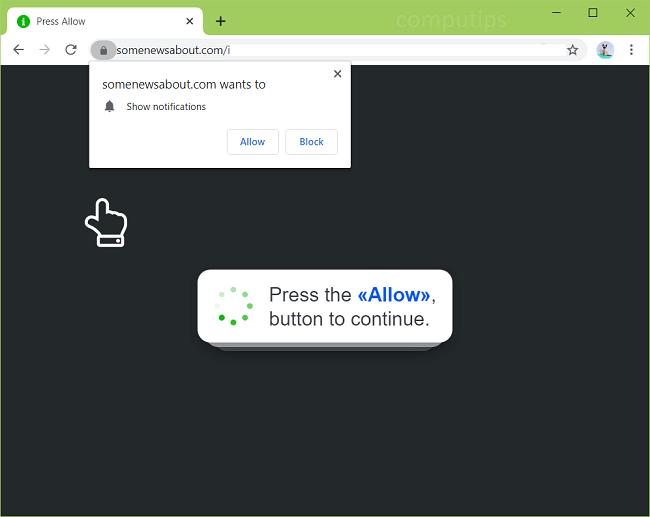 Eliminar algunas noticias sobre notificaciones de virus com