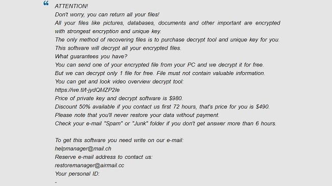 lisp ransomware