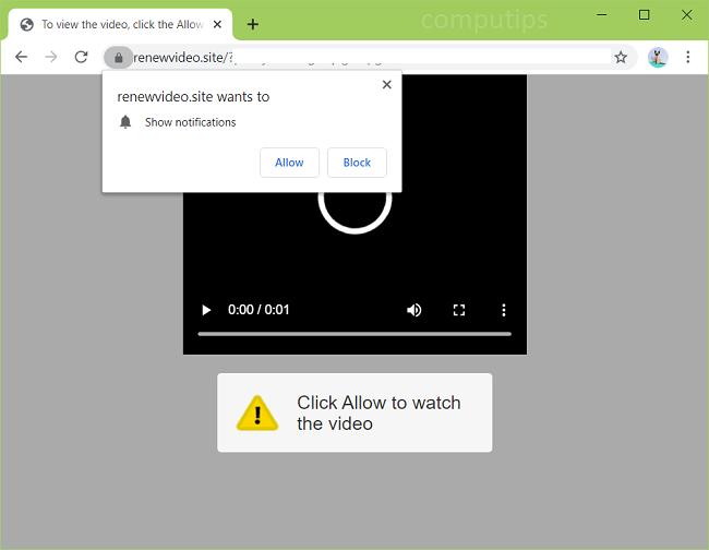 Eliminar 0.renewvideo.site, renovarvideo.fun, renovarvideo.casa, renovarvideo.rest, renovarvideo.work, newvideo.store, renovarvideo.surf, renovarvideo.cyou, renovarvideo.monster, newvideo.website, renovarvideo.best  (renovar el virus del sitio de videos) notificaciones