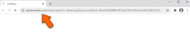 streaming plus navegador hijacker