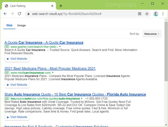 Como eliminar web-search-result.xyz virus