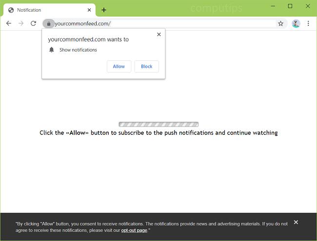 Elimina las notificaciones de virus de feeds comunes