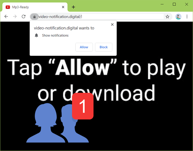 Delete video-notification.digital virus notifications