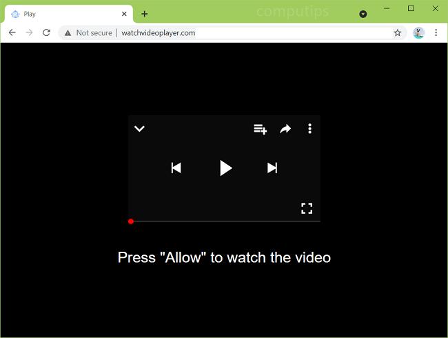 Supprimer les notifications de virus du lecteur vidéo