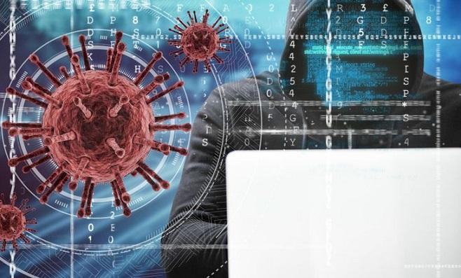 contas de vírus