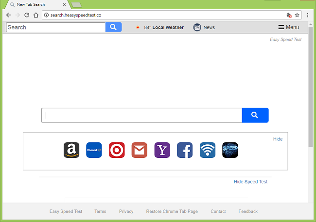 How to delete http://search.heasyspeedtest.co/ virus
