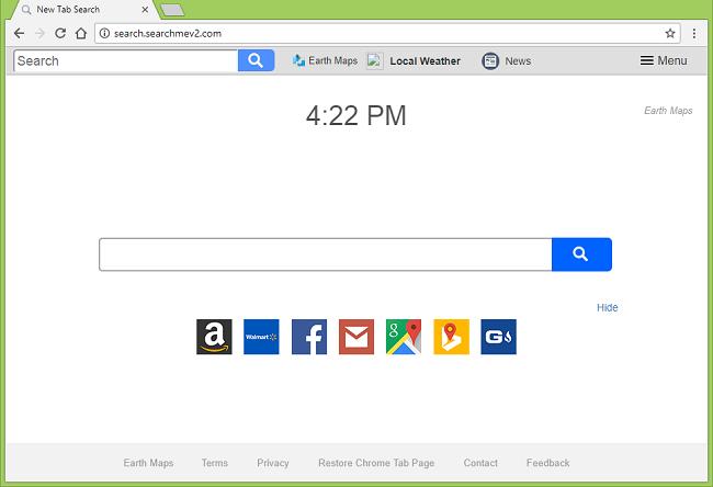 Delete http://search.searchmev2.com/?uc= (Earth Maps) virus
