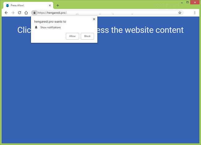Delete https://hengaredi.pro, p8.hengaredi.pro, p7.hengaredi.pro, w986.hengaredi.pro, h64r.hengaredi.pro, sphy.hengaredi.pro, oz4x.hengaredi.pro, n9m9.hengaredi.pro virus notifications