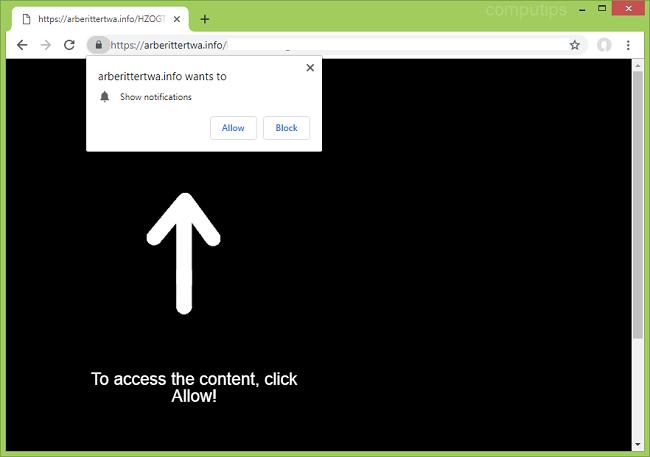 Delete https://arberittertwa.info, kqg3.arberittertwa.info, jzz3.arberittertwa.info, zhlg.arberittertwa.info, i979.arberittertwa.info virus notifications