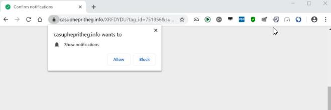 How to remove casuphepritheg.info ads