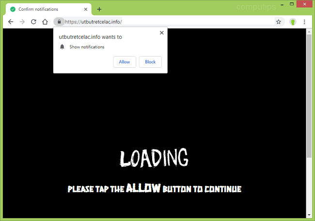 Delete https://utbutretcelac.info, ij45.utbutretcelac.info, v1nj.utbutretcelac.info, lmqi.utbutretcelac.info, s7oz.utbutretcelac.info, k5g2.utbutretcelac.info virus notifications