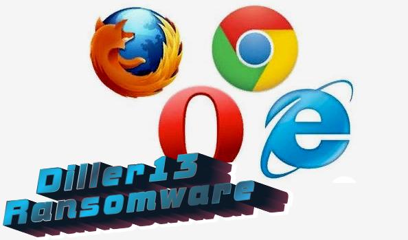 remove Diller13 ransomware
