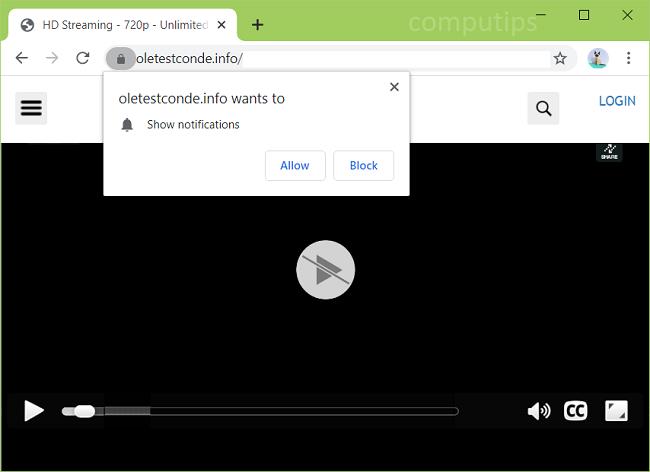 Delete oletestconde.info, zkie.oletestconde.info, cxs5.oletestconde.info, i454.oletestconde.info, etc. virus notifications